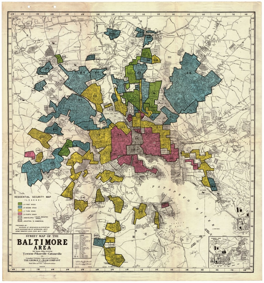 1937 Baltimore Residential Security map sm 2000 px on a side
